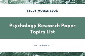Best Psychology Research Paper Topics: 100 Perfect Ideas for 2018