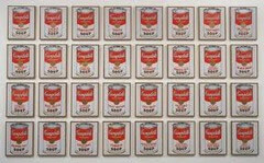 32 Campbell's Soup Cans by Warhol