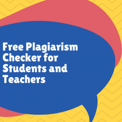 Free plagiarism checker for students and teachers