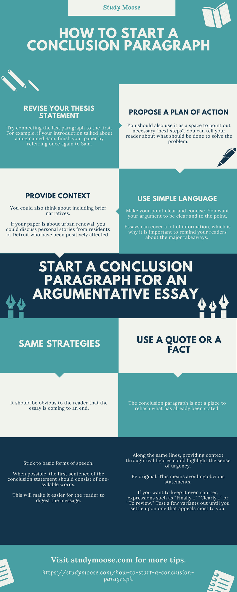 how to make a closing paragraph