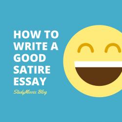 How to Write a Good Satire Essay