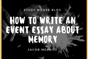 How to Write an Event Essay about Memory