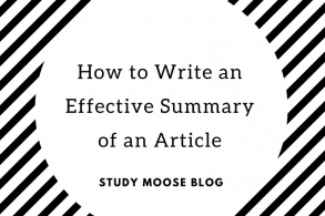 How to Write an Effective Summary of an Article
