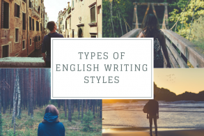 Types of English Writing Styles