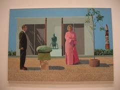 American Collectors  David Hockney Mid 20th century British  POP ART bring representation back to art. Bright color