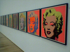 Andy Warhol's Marilyn Monroe Paintings