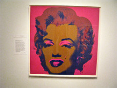 Andy Warhol Untitled from Marilyn Monroe (Marilyn), 1967 Pop art, screenprint on canvas 36 X 36 inches