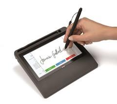 Biometric signature pad