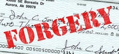 Check Forgery