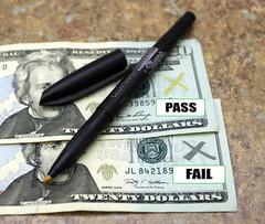 counterfeiting pen