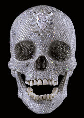 Damien Hirst  For the Love of God, 2007 Sculpture (platinum, diamond (8,601), human teeth)