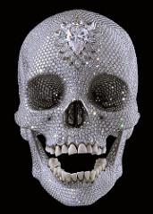 Damien Hirst  For the Love of God, 2007 Sculpture (platinum, diamond (8,601), human teeth)
