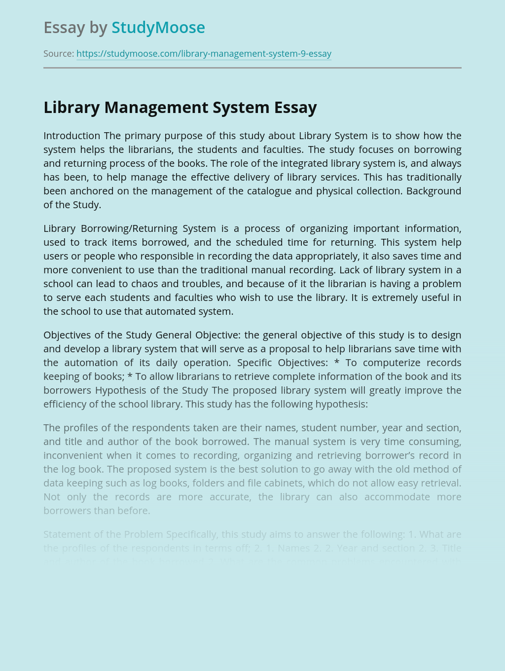 Dissertation on library leadership