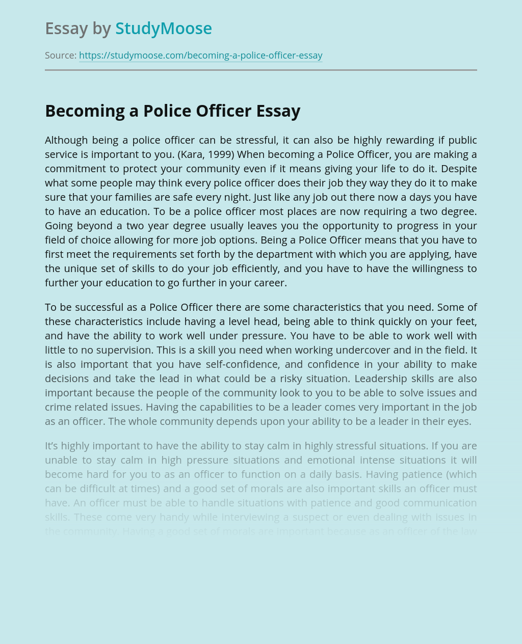 Sample essay questions for law enforcement top book review ghostwriters site for university