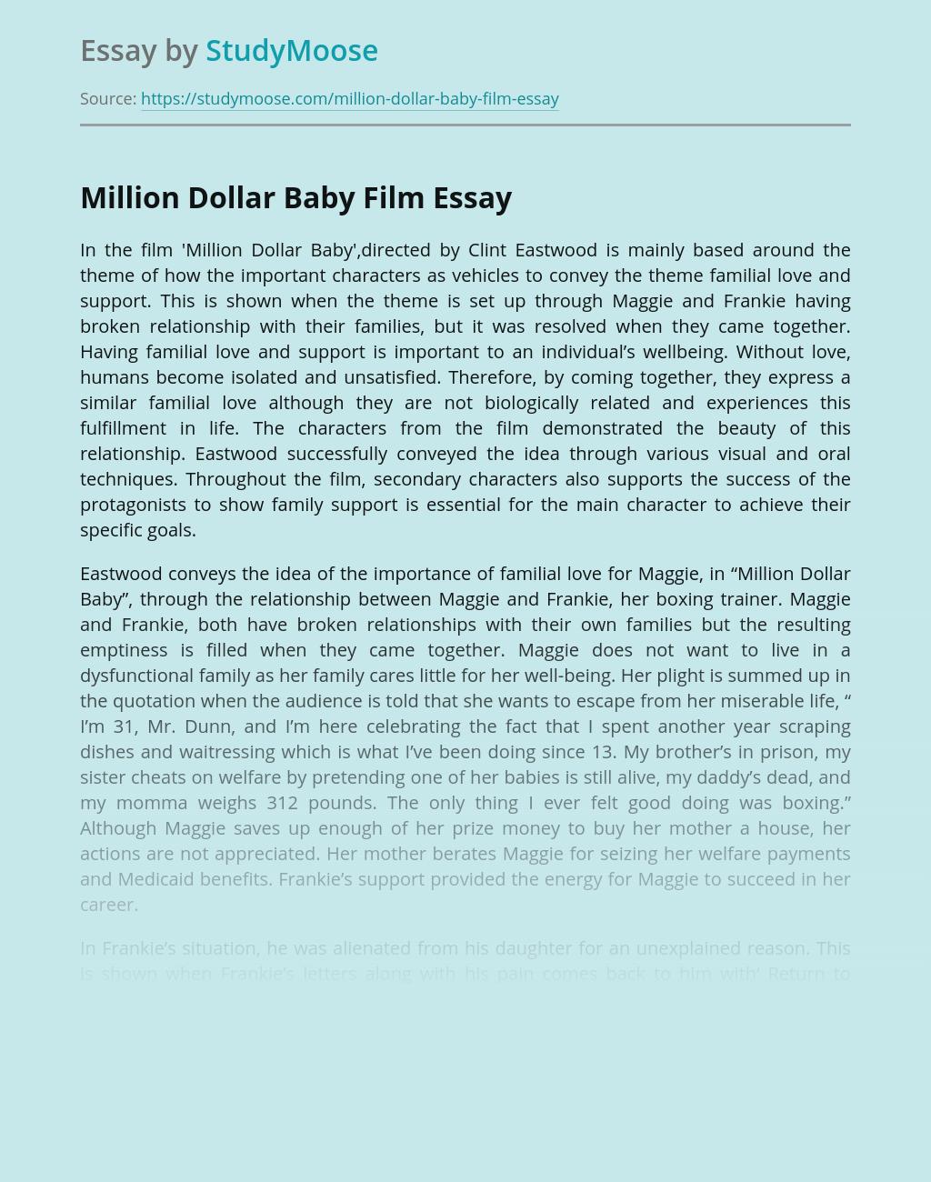 Million Dollar Baby Film