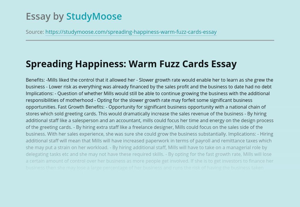 Spreading Happiness: Warm Fuzz Cards