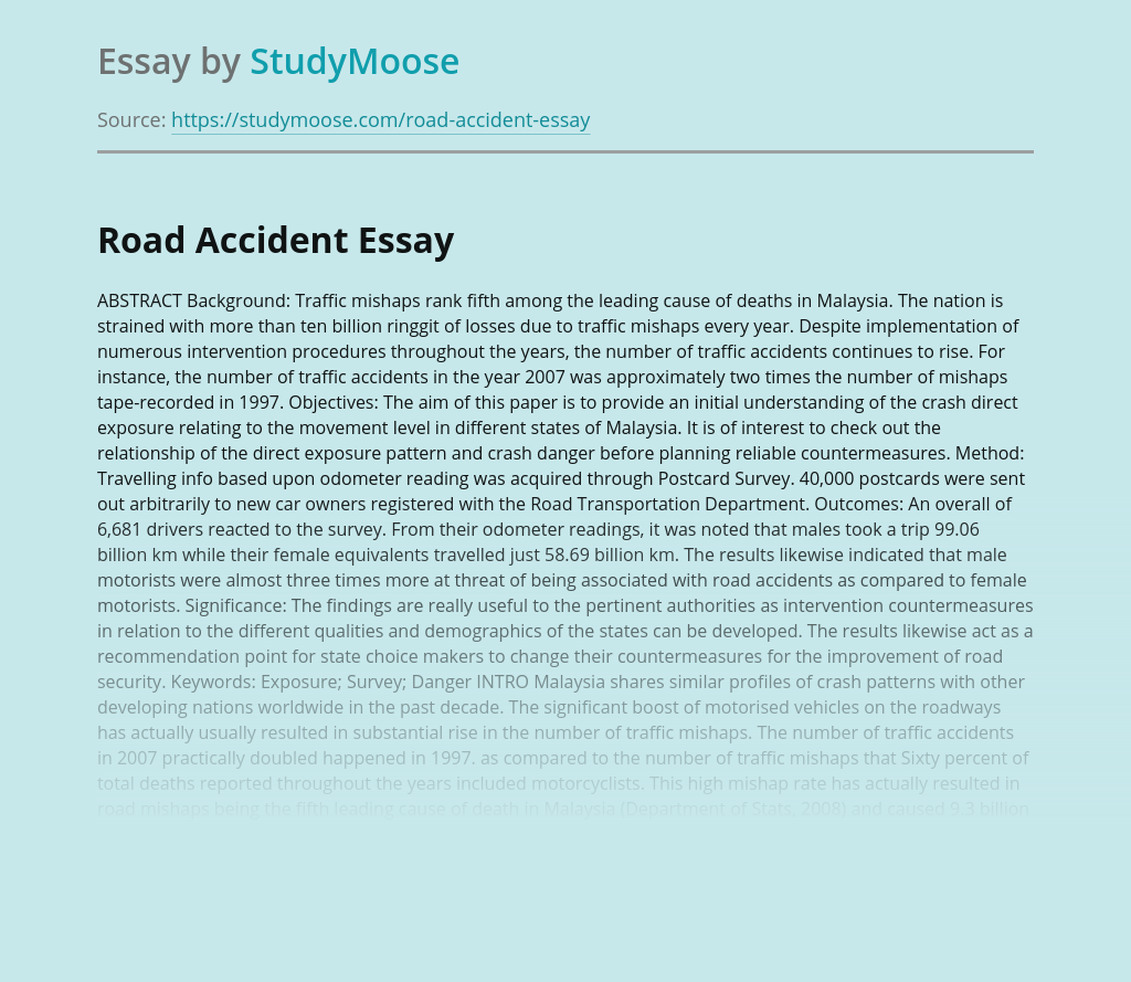 Road Accident Anlaysis