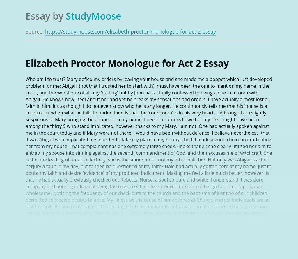 Elizabeth proctor essay writing research design paper