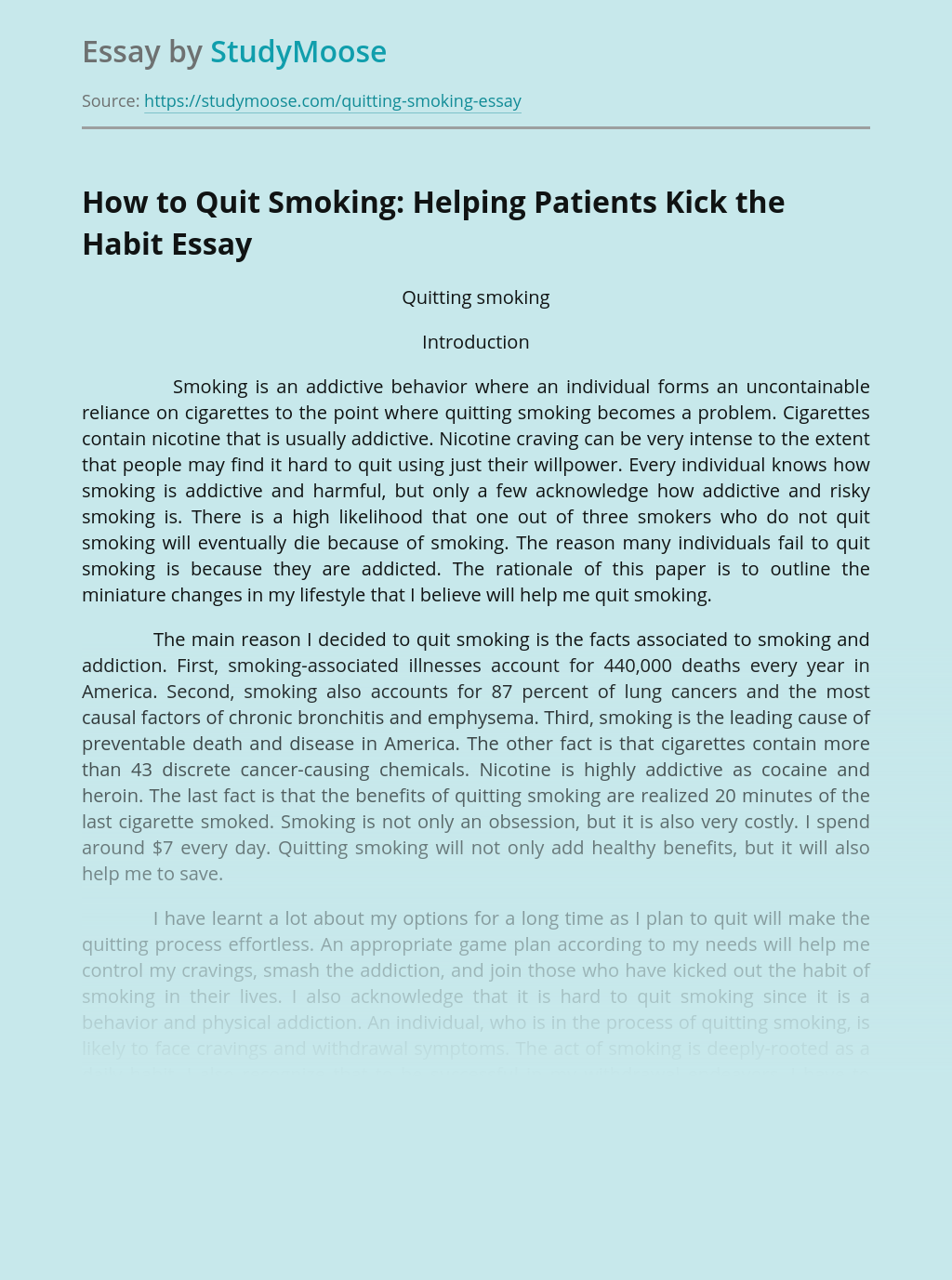 How to Quit Smoking: Helping Patients Kick the Habit
