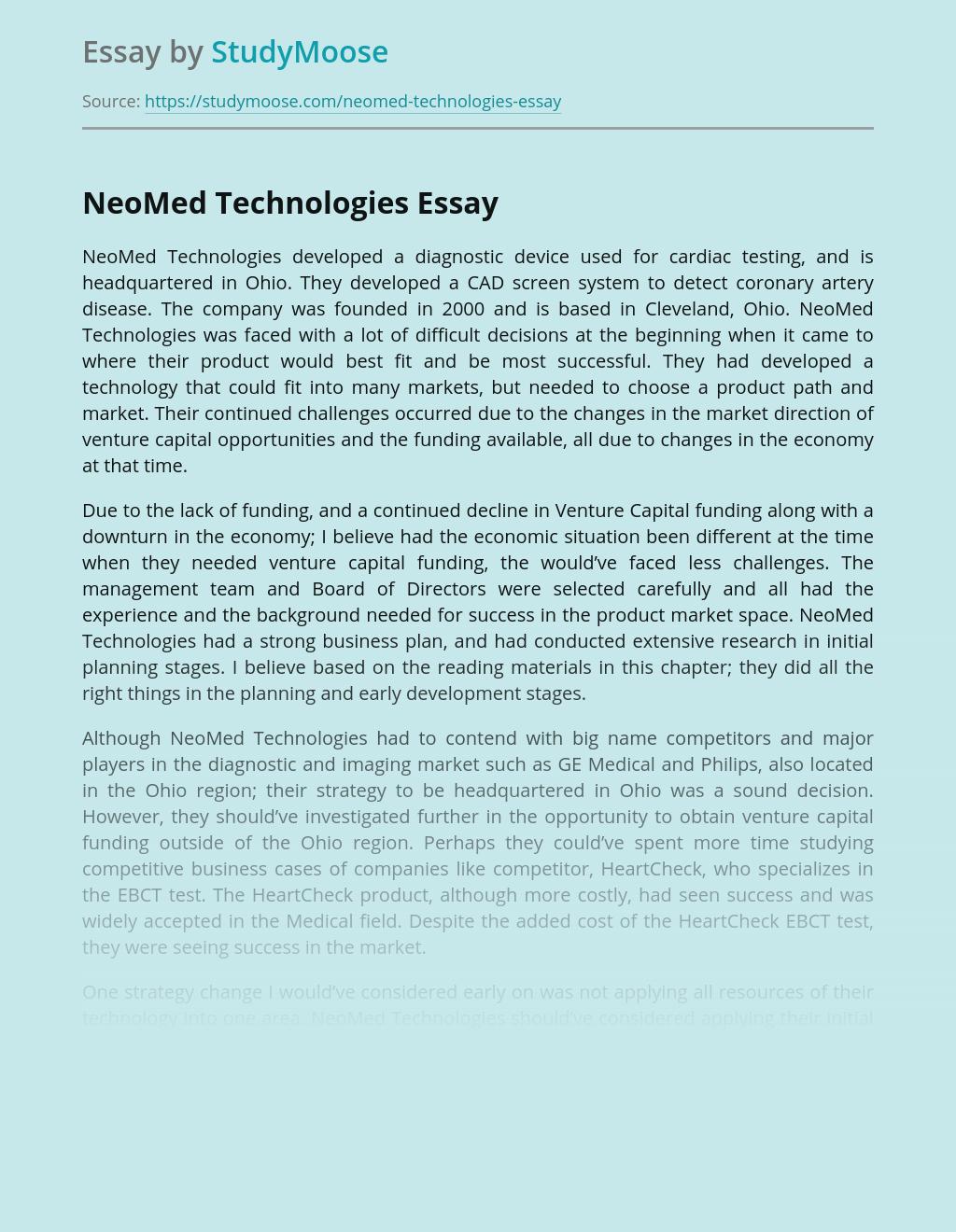 NeoMed Technologies