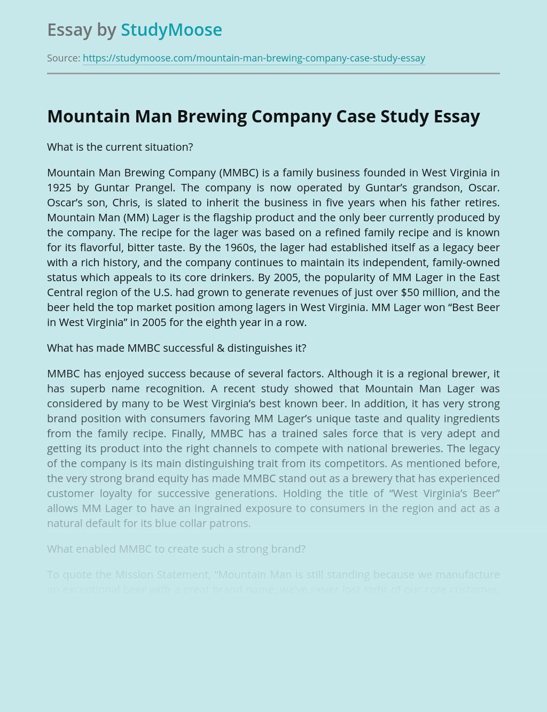 Mountain Man Brewing Company Case Study
