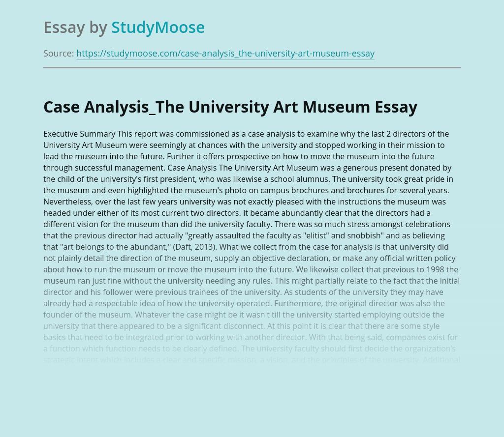 The University Art Museum
