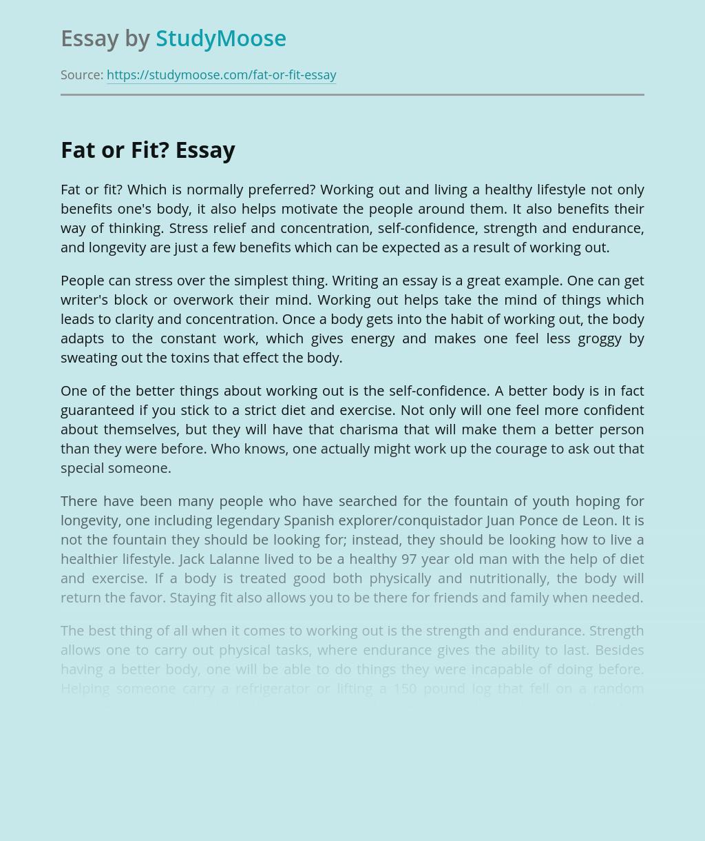 Sample argumentative essay fat people best homework editing websites for school