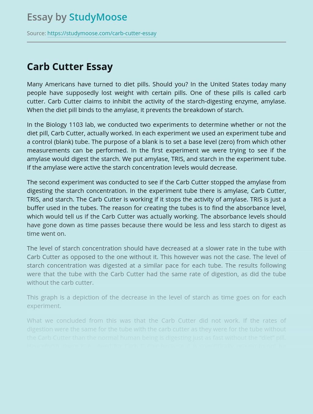 Carb Cutter