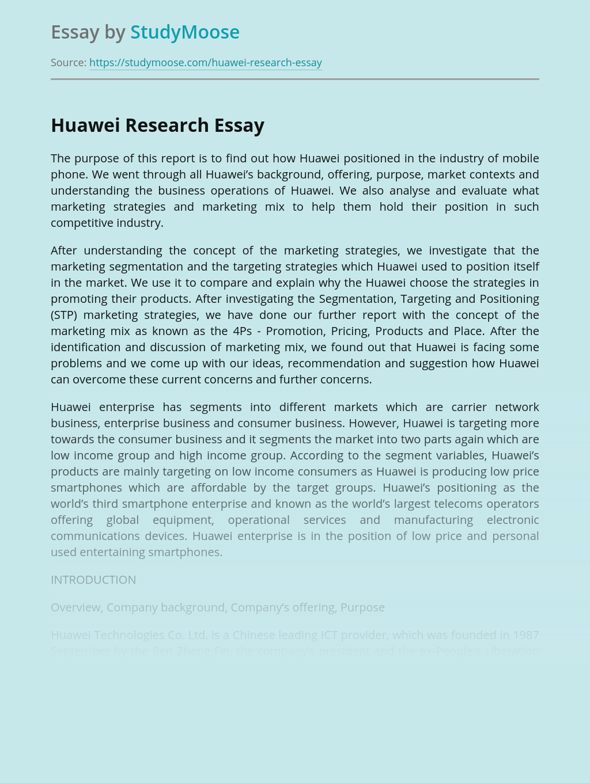 Huawei Research
