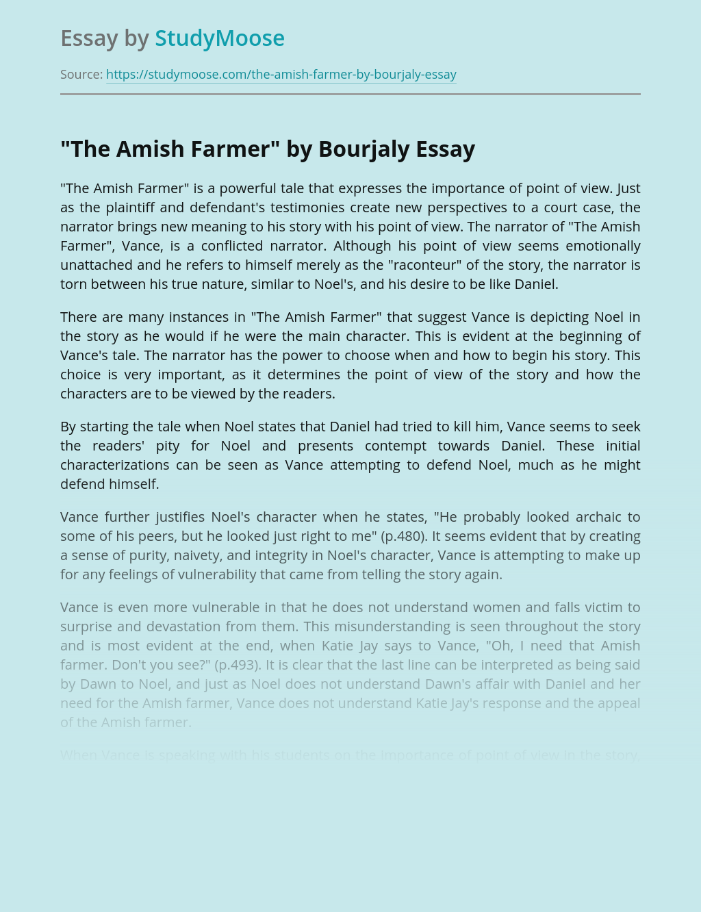 """""""The Amish Farmer"""" by Bourjaly"""