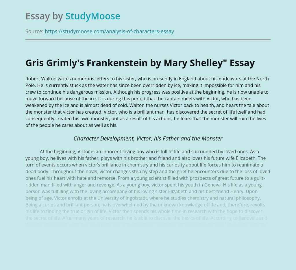 Gris Grimly's Frankenstein by Mary Shelley""