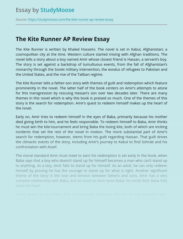 The Kite Runner AP Review