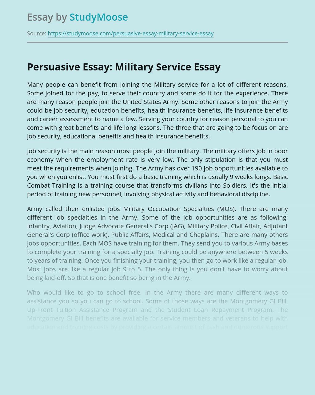 Argumentative Essay National Service✏️ - Best online essay writing service👨🎓