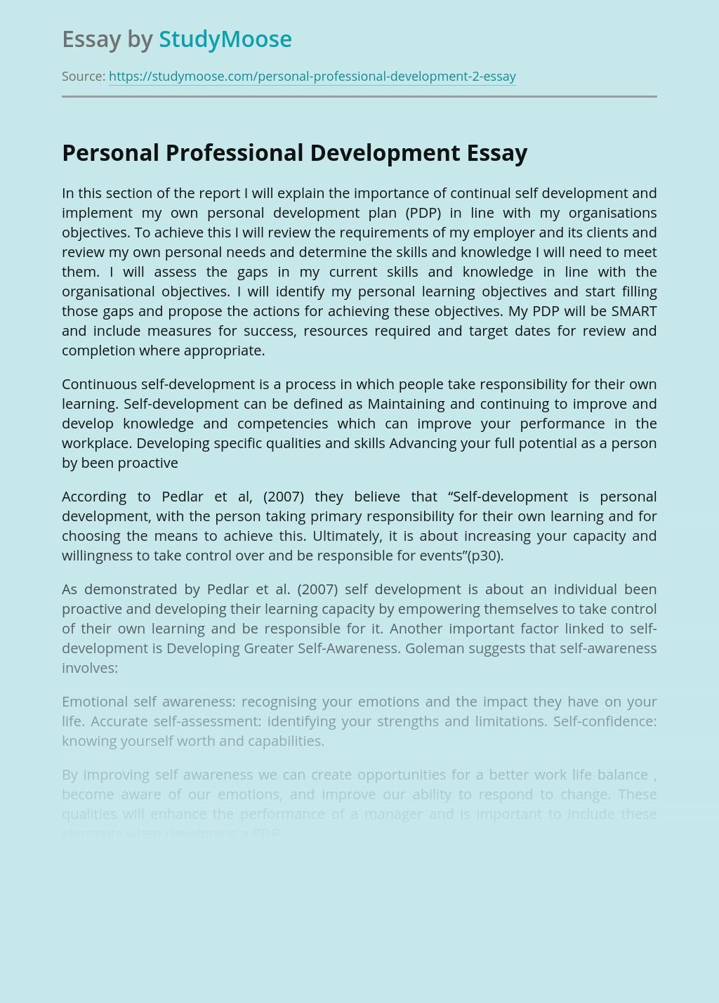 Six Core Benefits Of Personal Development — Possibilities ...