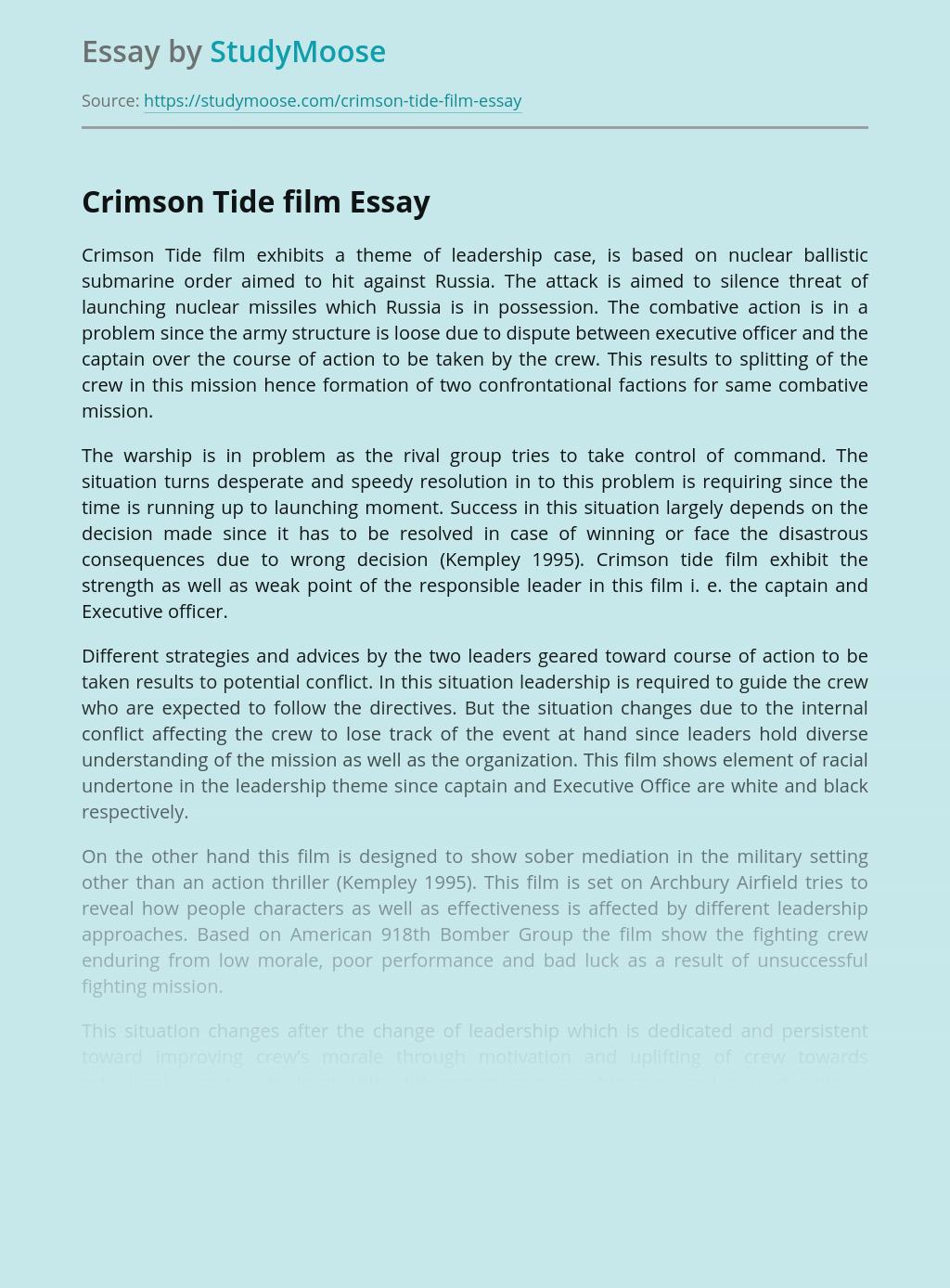 Crimson Tide film