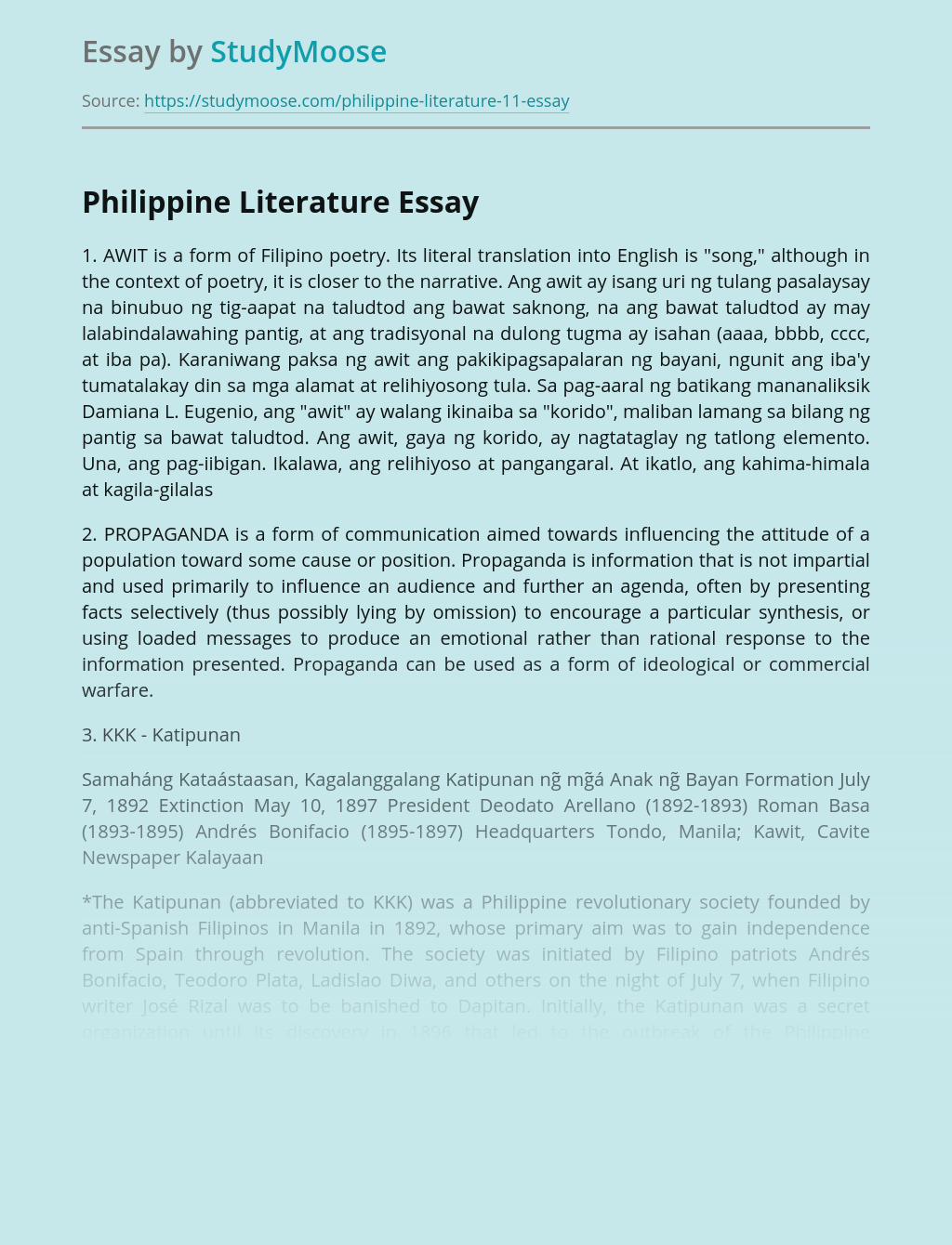 Apa thesis style