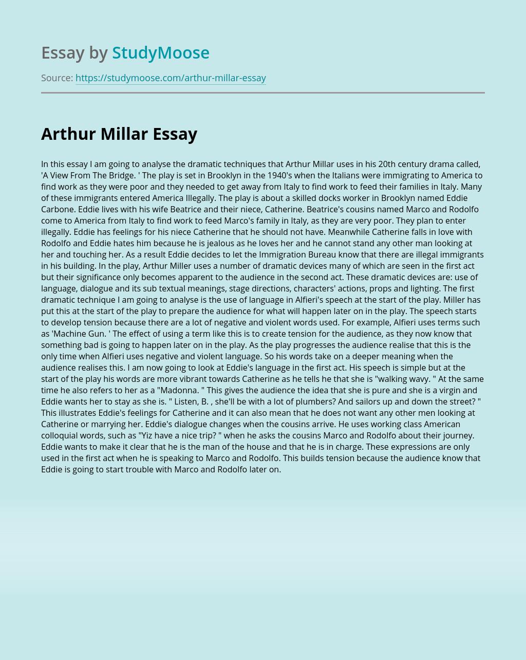 Arthur Millar