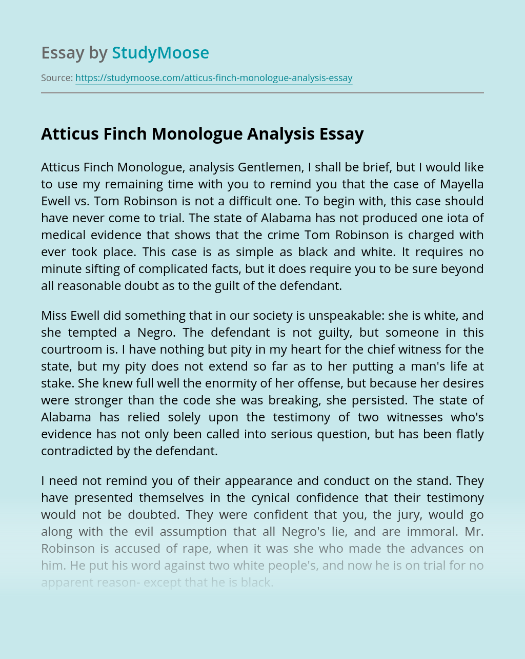 Atticus finch character analysis essay help with  philosophy book review