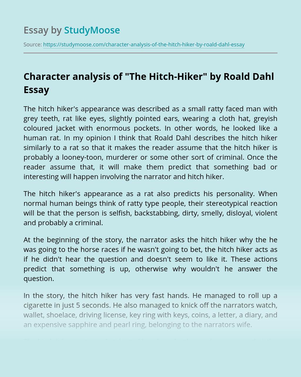 Character analysis of