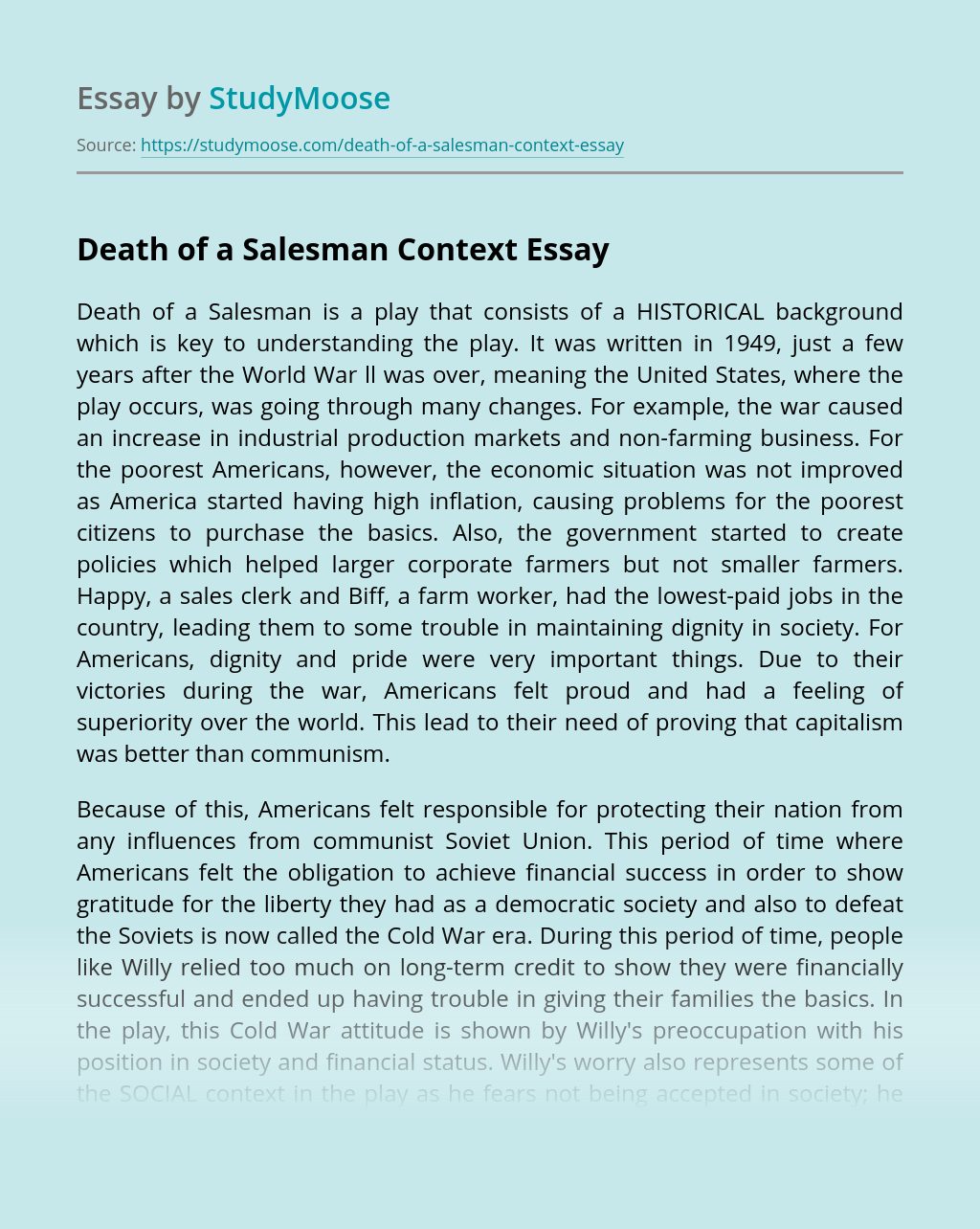 Compare and contrast death of a salesman essay esl research proposal editor services for masters