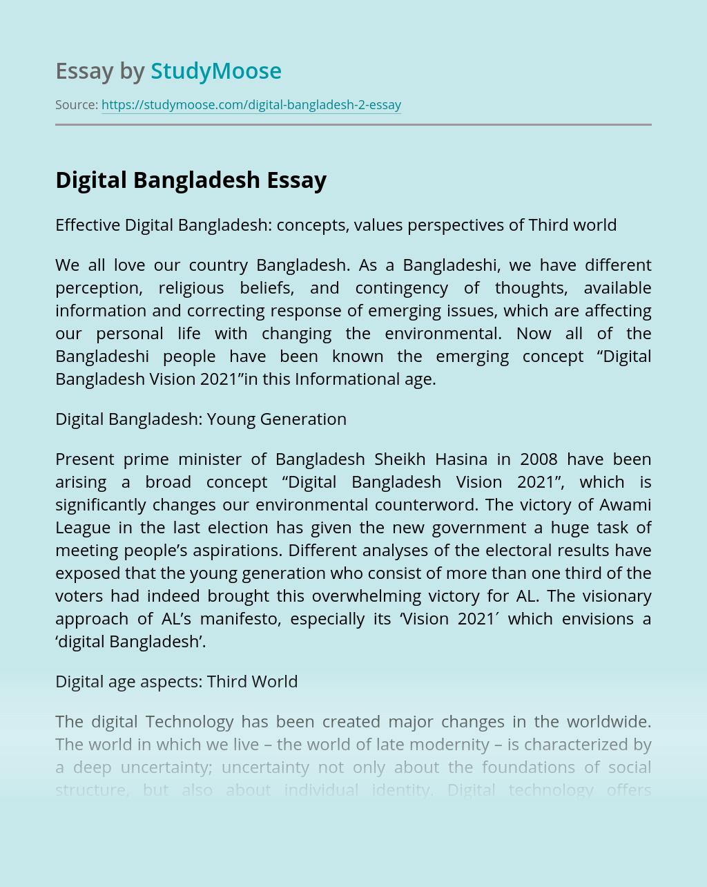 Digital Bangladesh