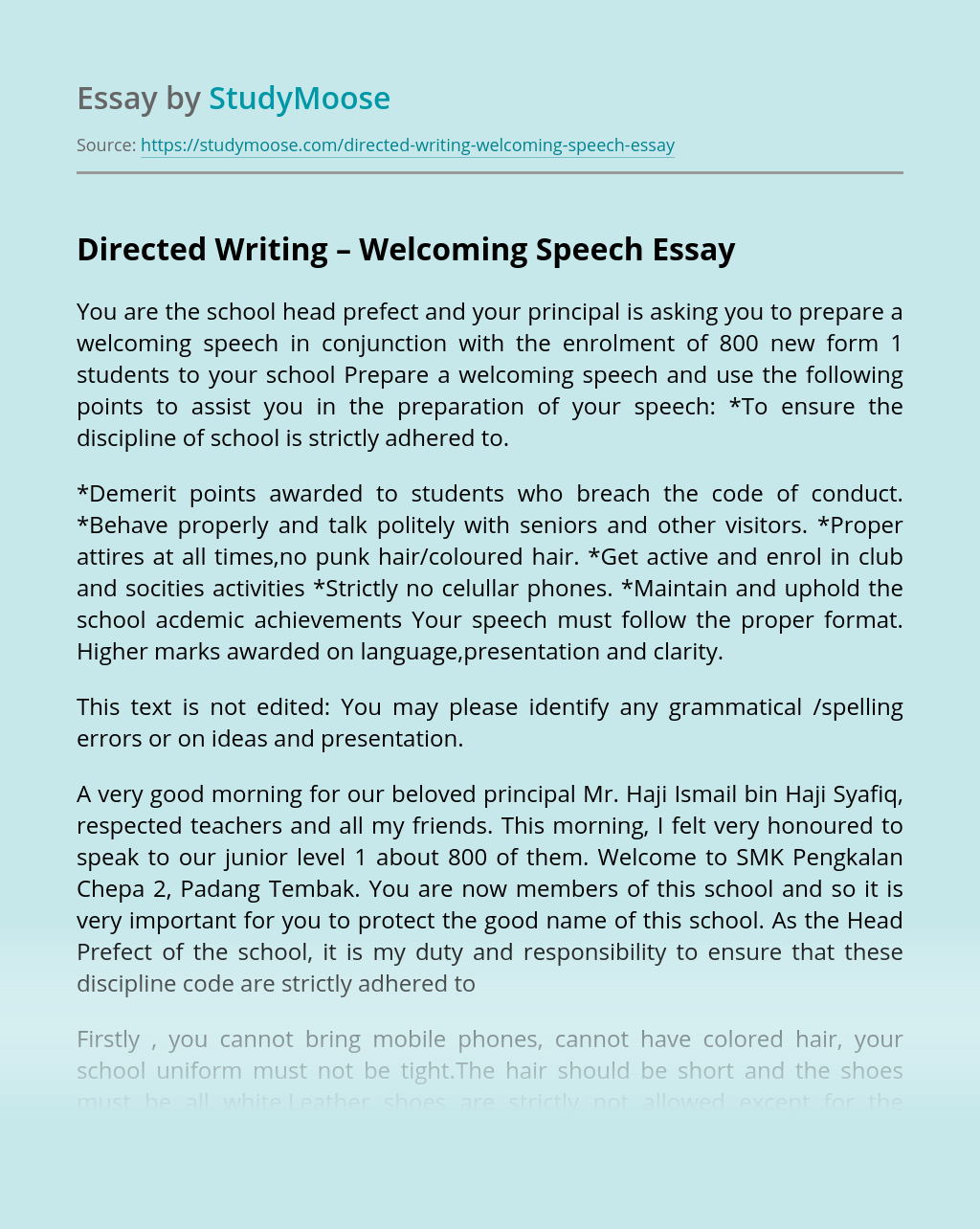 Speech essay writing sites research paper global environmental issues