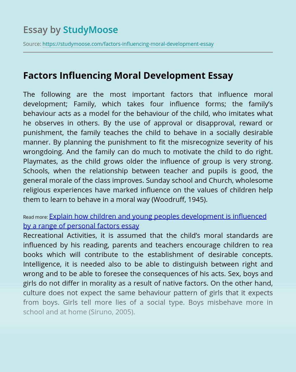 influencing essay