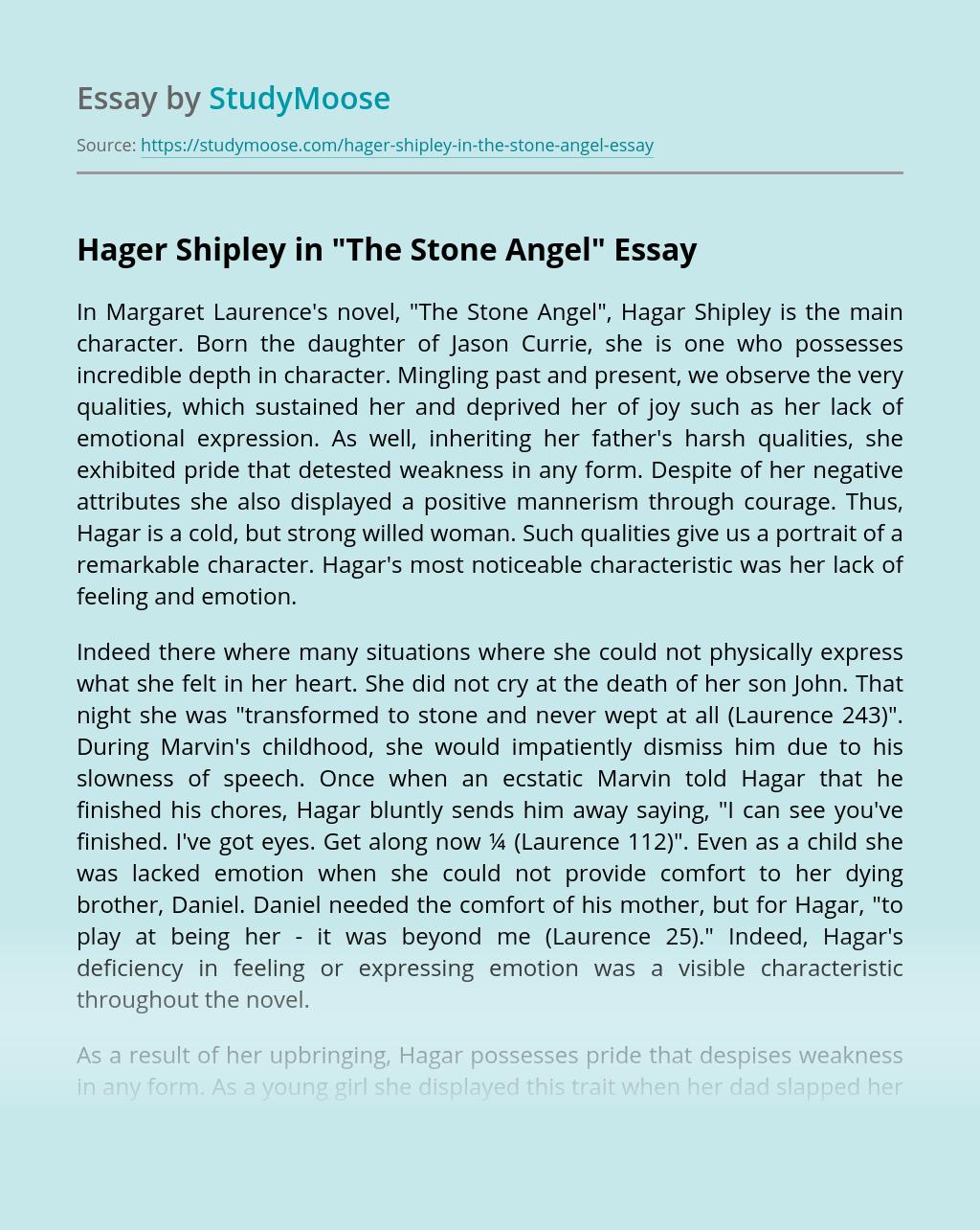 Hager Shipley in