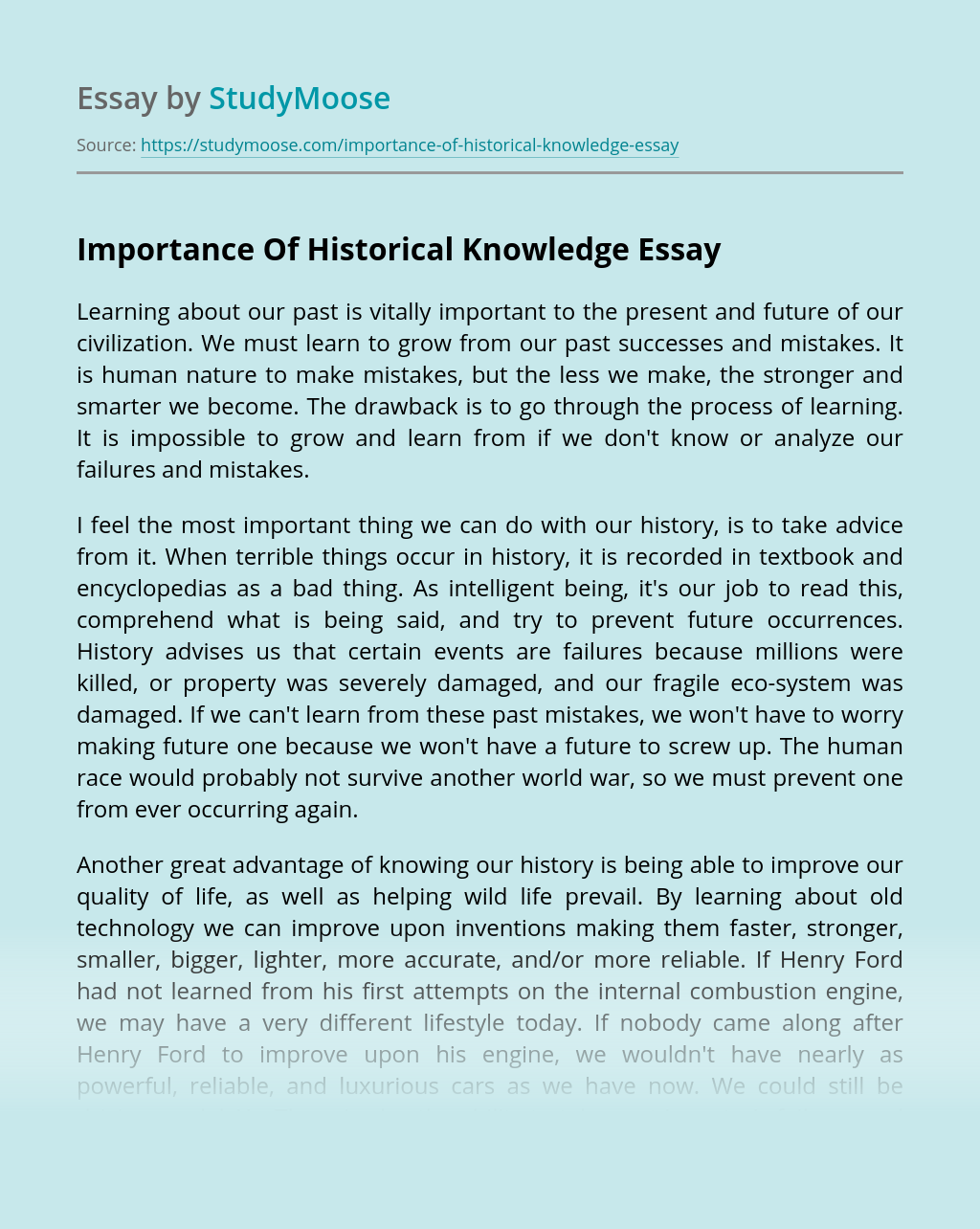 Essay on importance of history in our life how to write tibetan alphabet