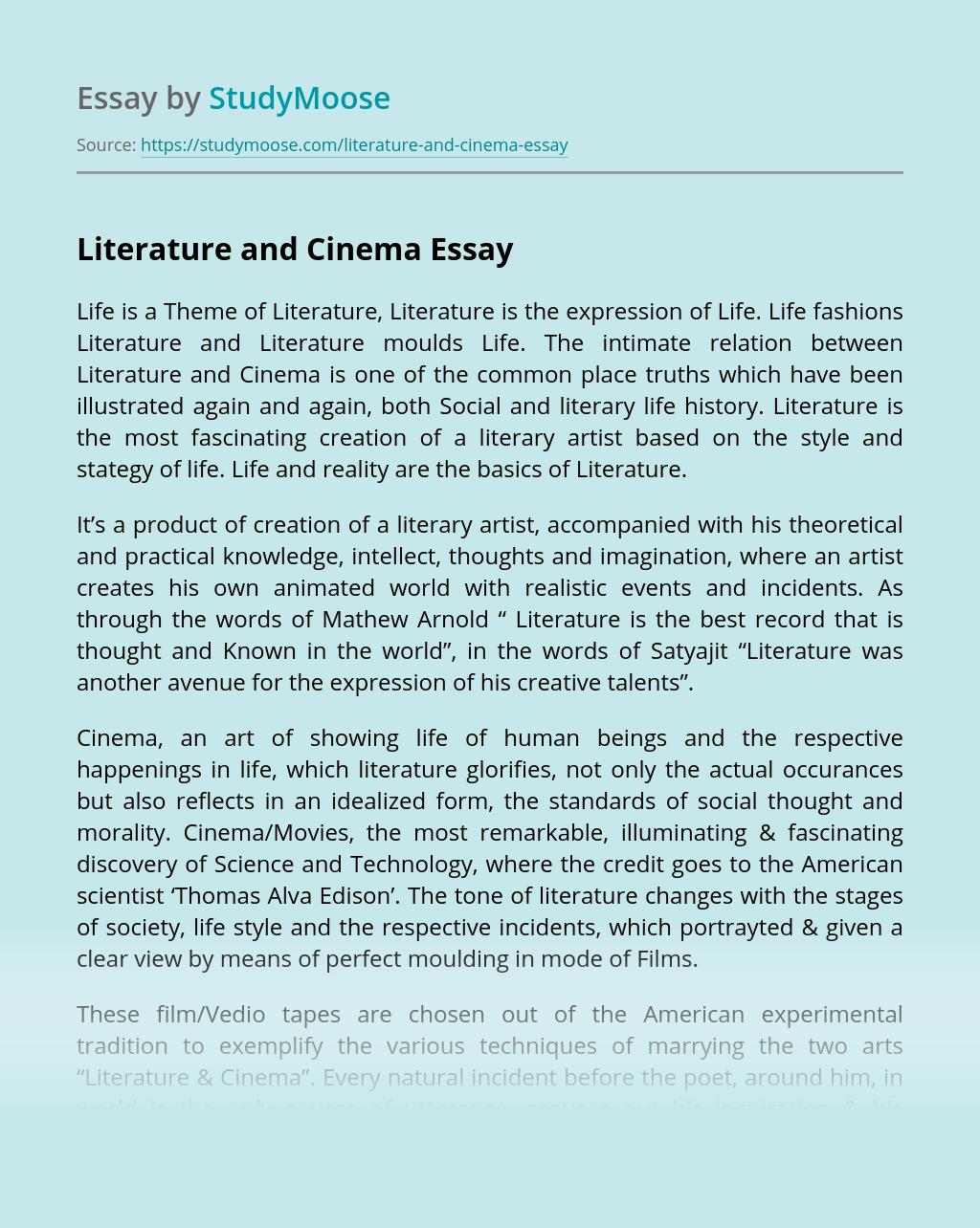 History of cinema essay free printable homework packets