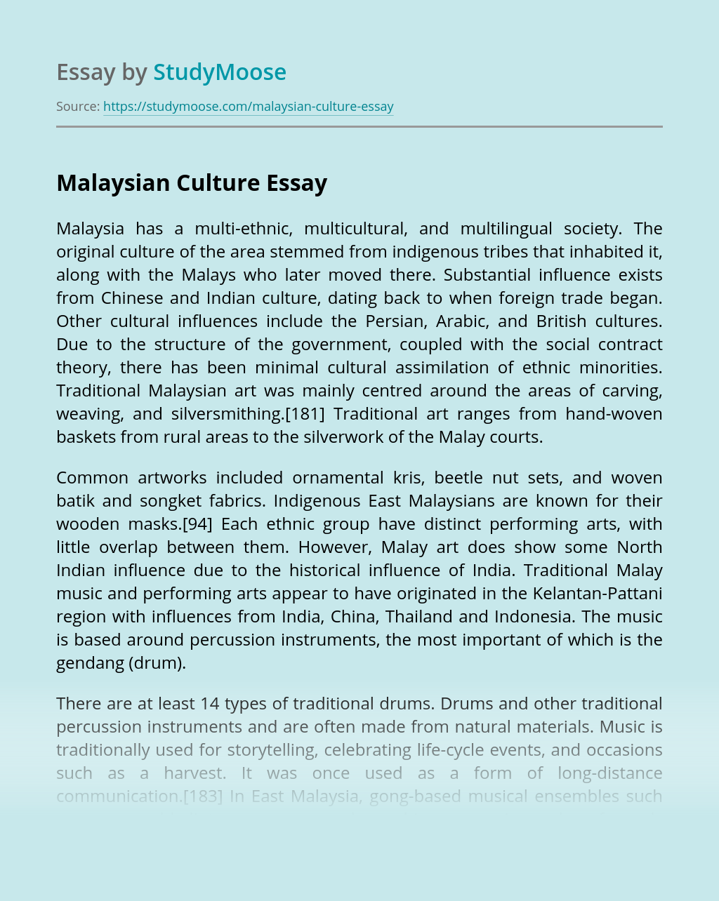 11 Things You Should Know About Malaysian Culture