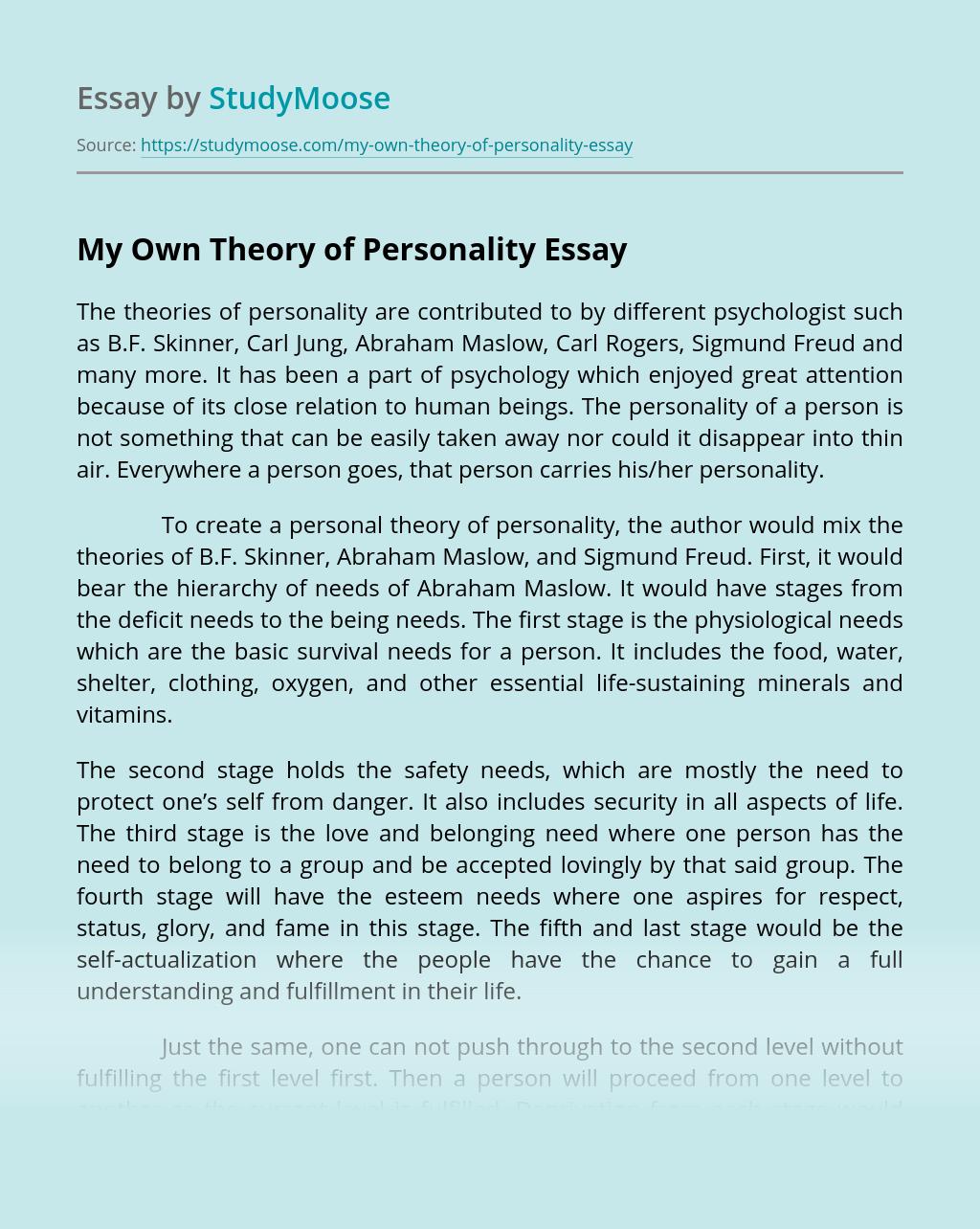 Personality theory essay to kill a mockingbird prejudice essay examples