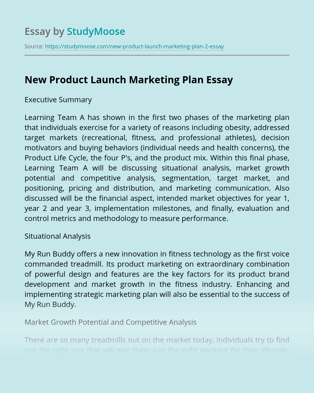 Enhancing and implementing strategic marketing plan