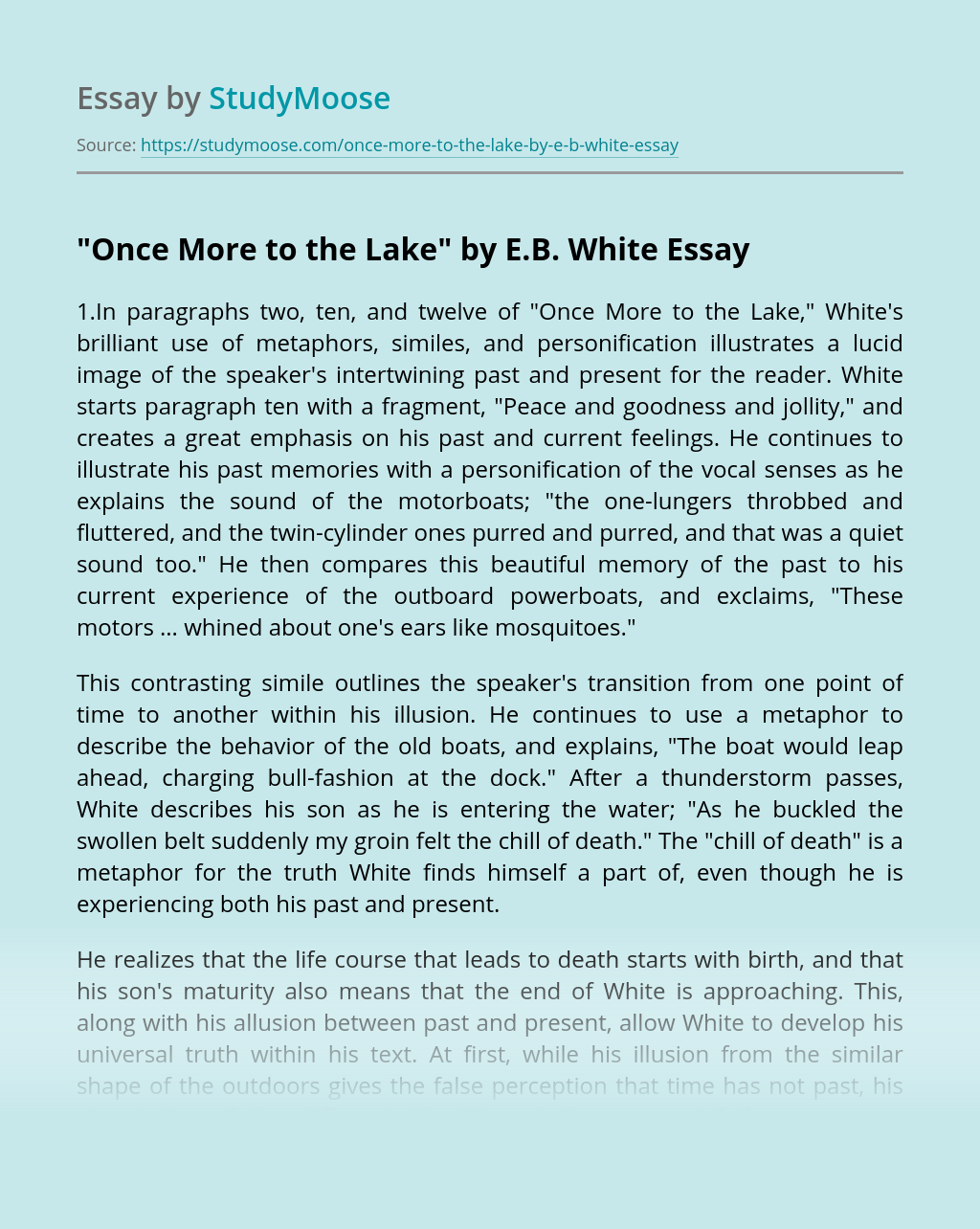 Simile essay guernica and essays